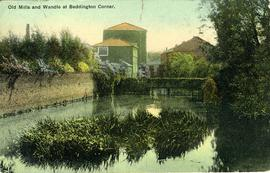 Old Mill and Wandle at Beddington Corner