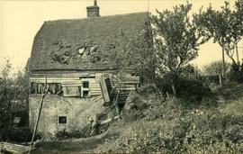 Manor Mill, Poynings, collapsing