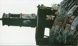 Photograph of the stock on Harmony Hall Mill, St Vincent