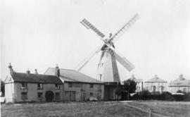 Dawson's Mill, Millfield, Folkestone, and houses
