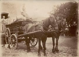 W French and Son Horse and Cart