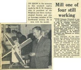 """Mill one of four still working"""