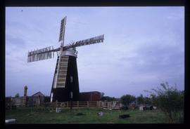 Tower mill, Over, restored in working order with four sails