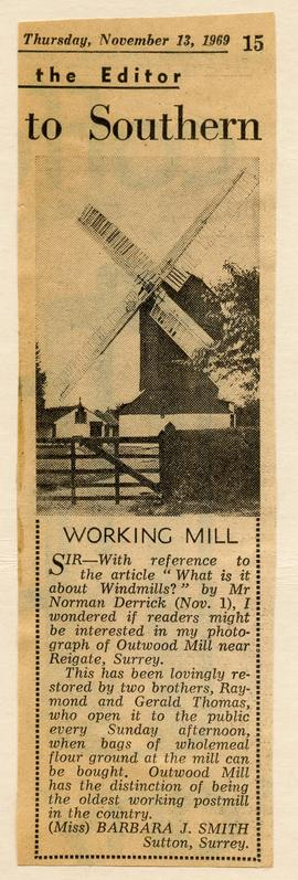 """Working Mill"""