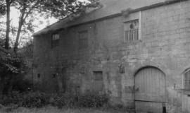 Abbey Saw Mill, Mitford, with arched door