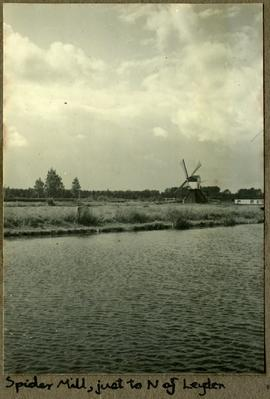 Spider Mill, just to N. of Leyden (Leiden)