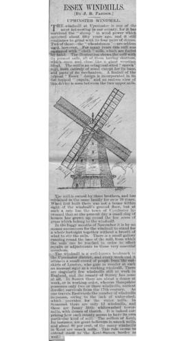 """III. Upminster Windmill"""