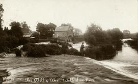 The Mill & Weir, Welford-on-Avon
