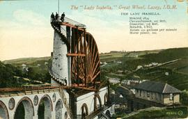 "The ""Lady Isabella"" Great Wheel, Laxey, I.O.M"