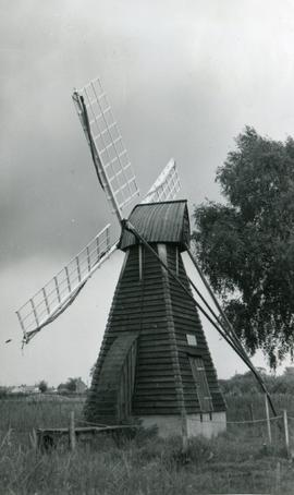 Norman's Mill, Wicken Fen, in nature reserve