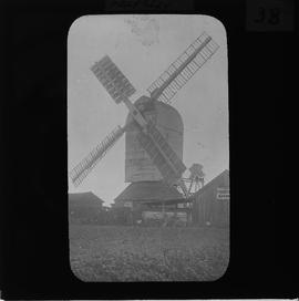 Haughley post mill, Suffolk