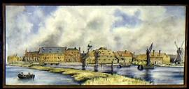 Painting of 3 mills