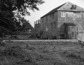Hackett's Mill, West Ashling, showing partial rebuilding