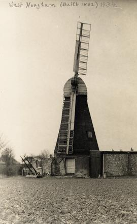 West Hougham Mill, Hougham