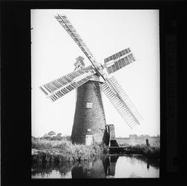 """Hained"" tower windpump in working order