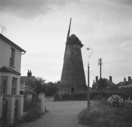Stansted Windmill, Stansted Mountfitchet, with one stock but no sails