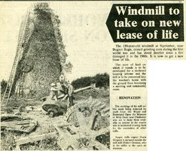 """Windmill to take on new lease of life"""