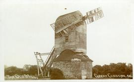 Old post mill, Great Clacton