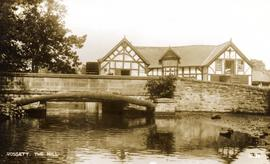 Rossett Mill, Rossett, and road bridge