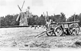 Tower mill, Bidborough, and haycart