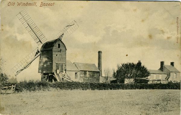 old windmill  bozeat