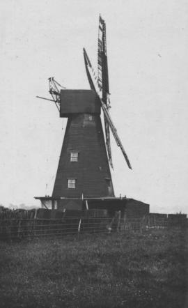 View showing some damage to sails, Upper Deal Mill, Deal