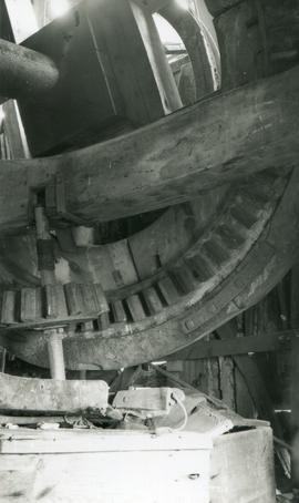 Brake wheel, Six Mile Bottom Mill, Burrough Green