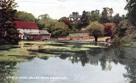 Watermill and mill pond