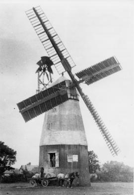 New Mill, Barrow, working with horse and cart
