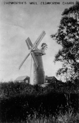 Papworth's Mill, Elsworth, working