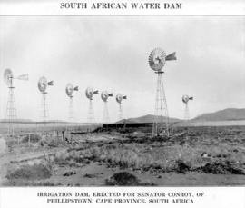 South African water dam