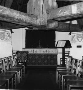 View of chapel inside roundhouse