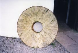 Photograph of a Swiss burrstone, Blennerville, Kerry, Ireland