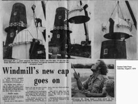 """Windmill's new cap goes on"""