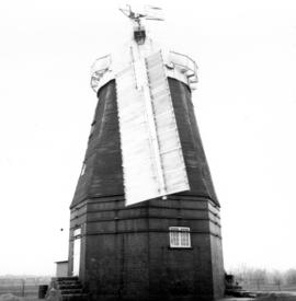 Outside view of  Willingham Mill, Cambridgeshire