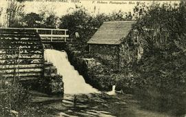 The Old Water Mill. Fords Mead. Mere.