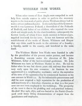 Wickham Market Iron Works Article