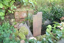 Surviving section of sluice at Himley Corn Mill