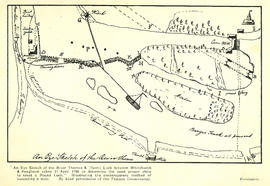 """Plan of the flash lock between Whitchurch and Pangburn"""