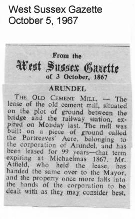 """Arundel - The Old Cement MIll"""