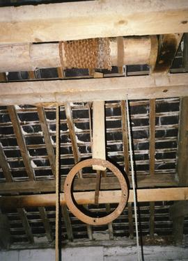 Photograph of internal machinery, Old Ross mill, Wexford, Ireland