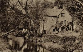Castle Mill, Dunster, with twin overshot wheels