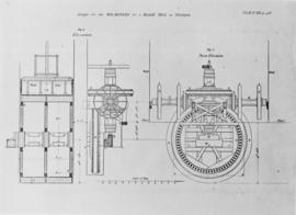 Smeaton's design for the machinery for a blade mill