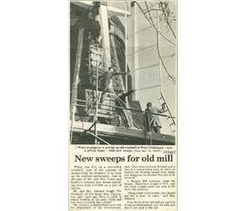 """New sweeps for old mill"""