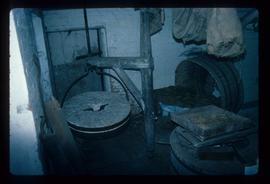 Interior of watermill