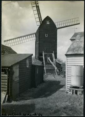 Ash post mill, 30 March 1954