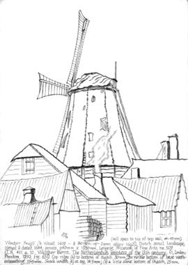 Smock mill, Holland