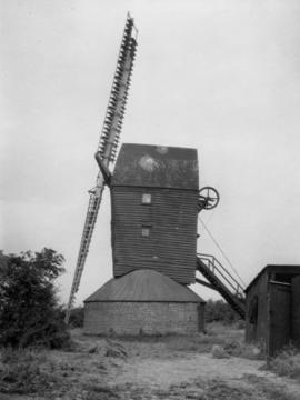 Six Mile Bottom Mill, Burrough Green, in working order