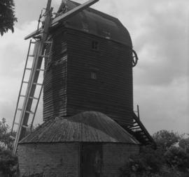 Six Mile Bottom Mill, Burrough Green, derelict