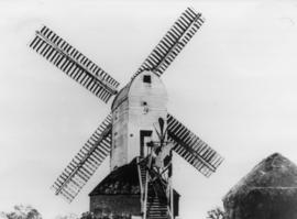 Close-up view, Windmill Hill Mill, Capel St Mary